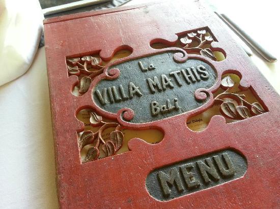 La Villa Mathis: 餐厅
