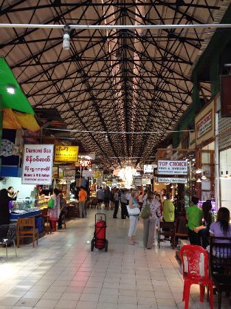 Bogyoke Aung San Market : 市场里面