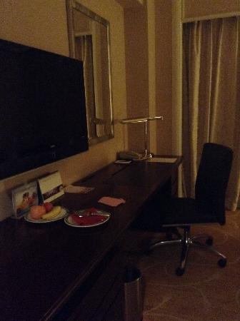 Shangri-La Hotel, Wuhan: 房间一角