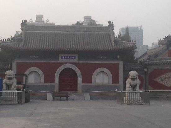 Dazhong Temple Ancient Bell Museum : 觉生寺庙门