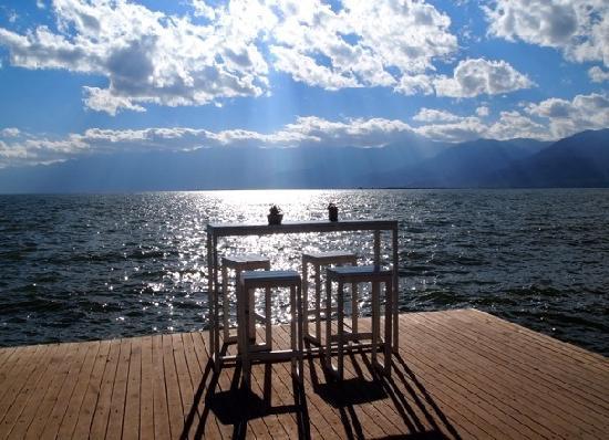 Sky Sea Lodge Hostel : 绝佳的观景平台