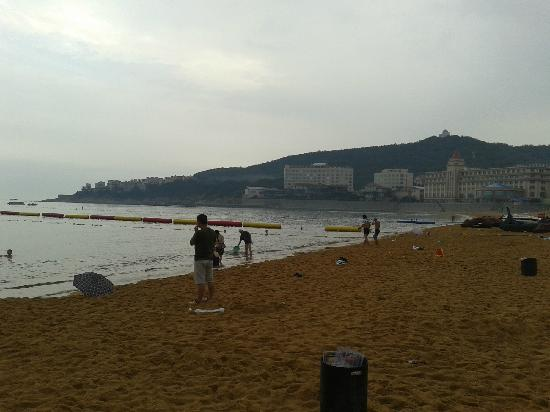 Weihai International Bathing Beach: 浴场一角
