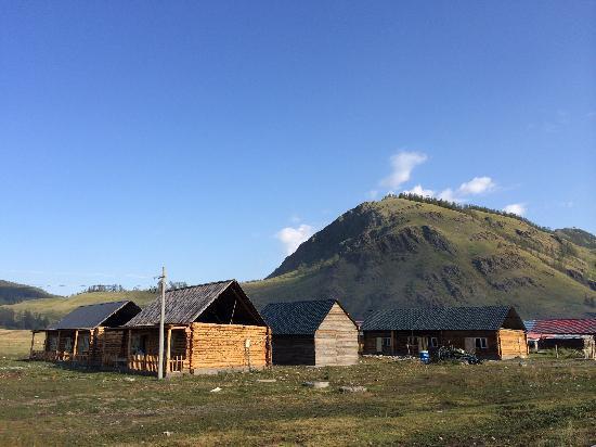 Kanas Lake Tuwa Village: 图瓦村落