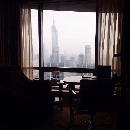 The Westin Nanjing: 31楼房间不错 窗外正对绿地洲际