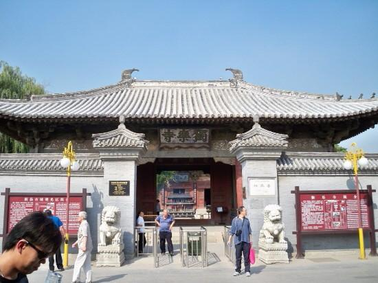 Temple of Solitary Joy (Dule si): 千年独乐寺