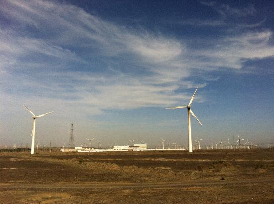 Dabancheng Wind Power Station : 风好大!