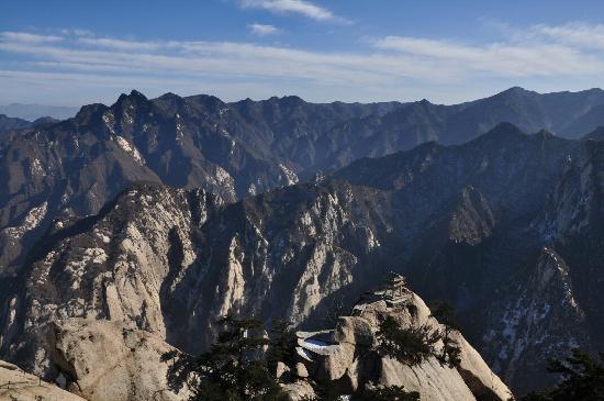 Mount Huashan: 华山对弈亭