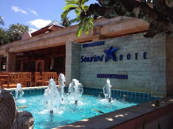 Seaview Patong Hotel: 餐厅 正门