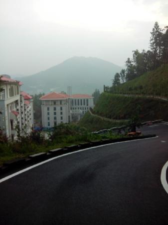 Hexieyuan Hotel: 从和谐苑的侧面远望