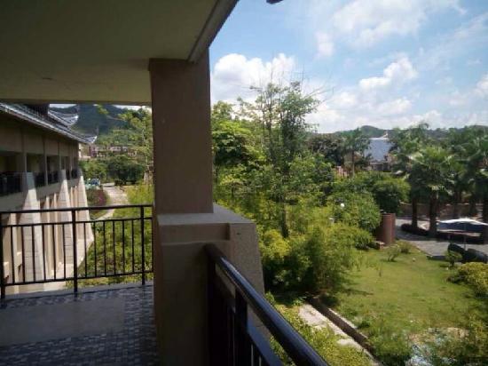 InterContinental Huizhou Resort: 阳台外望