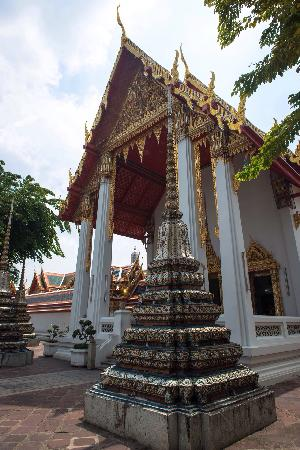 Temple of the Emerald Buddha (Wat Phra Kaew): 玉佛不能拍TOT