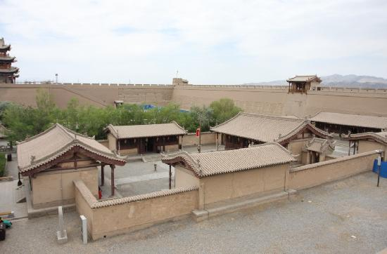 Jiayuguan Fortress: 漂亮