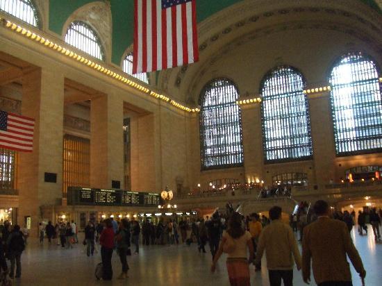Grand Central Terminal: 纽约中央车站大厅