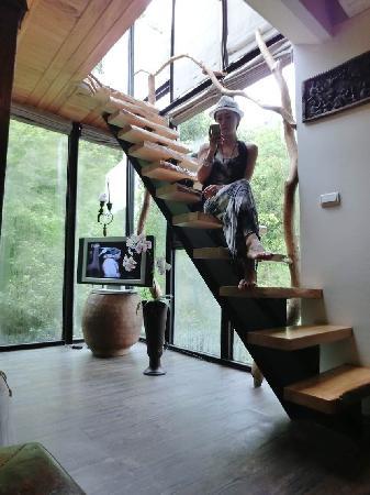 Echo villa: 观星阁的楼梯