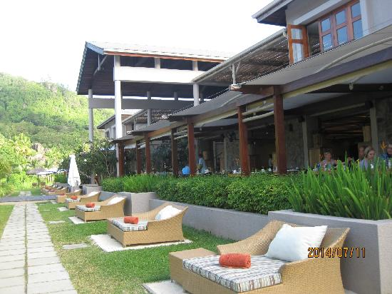 Kempinski Seychelles Resort: 不错的自助,早餐很丰富,就是价格有点高(早餐外)