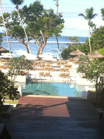 Kempinski Seychelles Resort: 大厅外漂亮的景色