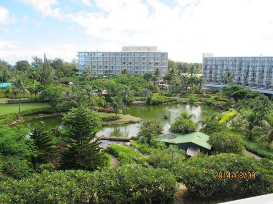 Hyatt Regency Saipan : 酒店花园