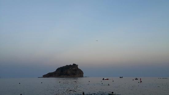 Bangchuidao Island: 晚霞