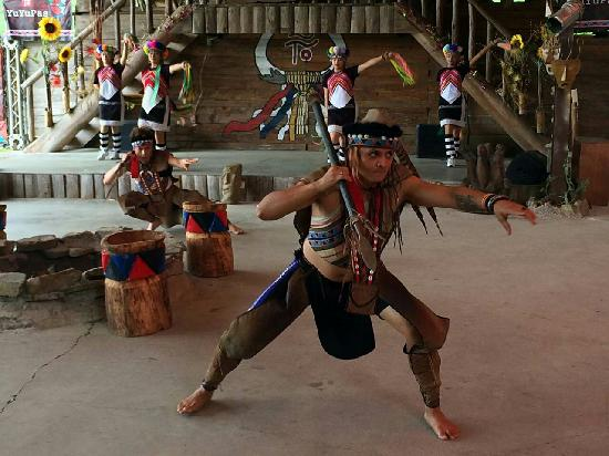 Formosan Aboriginal Culture Village Freizeitpark: 表演