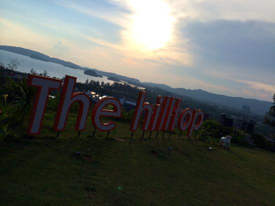 The Hilltop : sunset