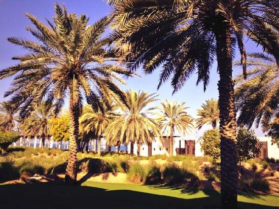The Chedi Muscat – a GHM hotel: 酒店园景