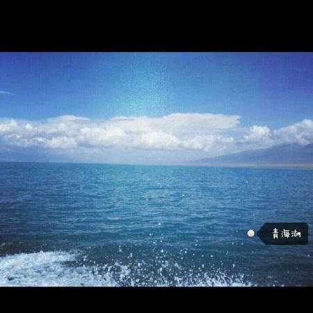 Lake Kokonor: 坐船在青海湖特爽