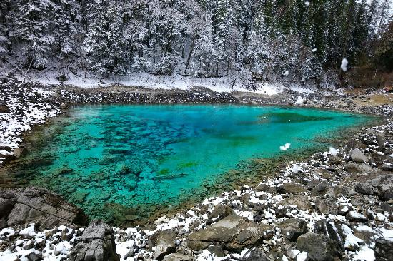 Liantai Pool: 九寨沟的精华景点