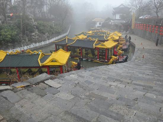 Yangzhou Royal Wharf : 御马头的龙船