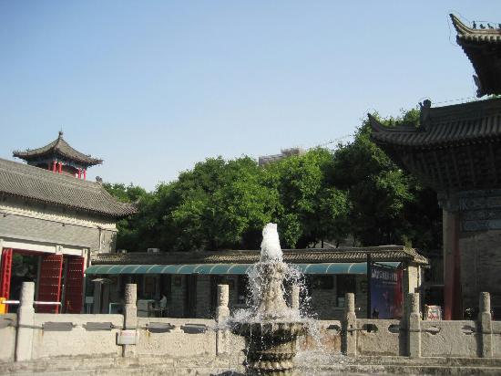Xi'an Qujiangchi Site Park : 曲江新区的公园