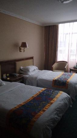 Mining Hotel: 三人间,里面还有一个套间
