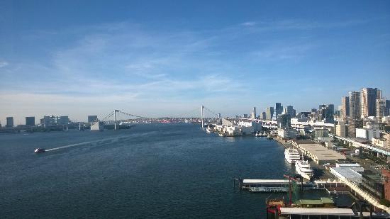 InterContinental Hotel Tokyo Bay : 窗看出的景色