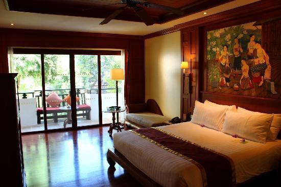 Amari Vogue Krabi: 泰式风格的房间