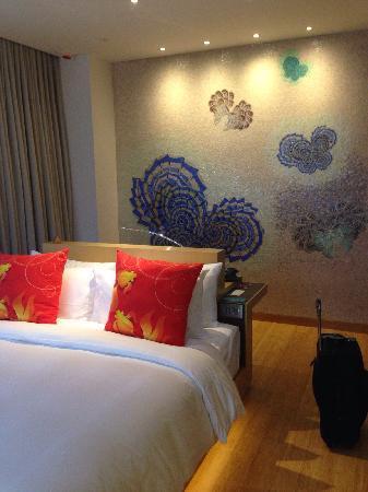 Hotel Indigo Hong Kong Island: 房间极小