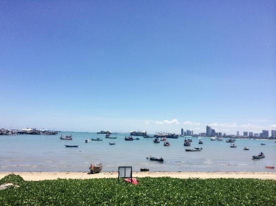 Siam Bayshore: 酒店私家海滩