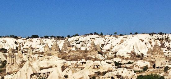 Koza Cave Hotel: 露台的风景