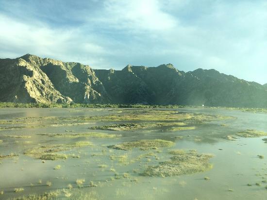 Gyaca County, Chine : 那玉河谷美景
