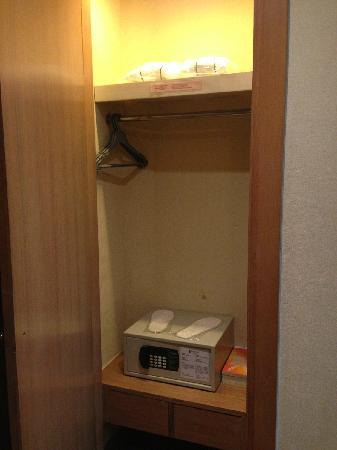Newton Hotel Hong Kong: 有保险箱可存私人物品