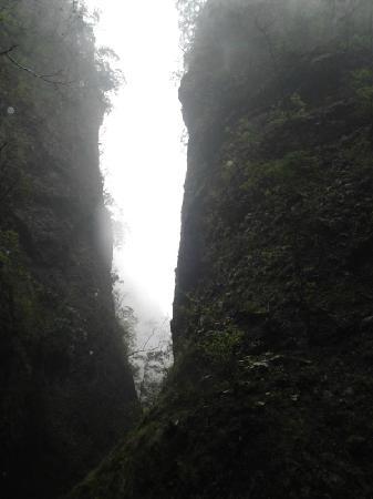 Shangnan County, Trung Quốc: 峡洞观景  迷蒙蒙的