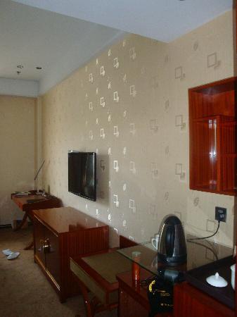 Ailian Villa Holiday Hotel: 开阔又清净的主墙设计