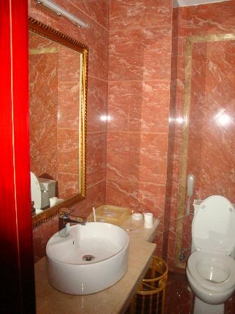Ailian Villa Holiday Hotel: 宽加洁的洗手间
