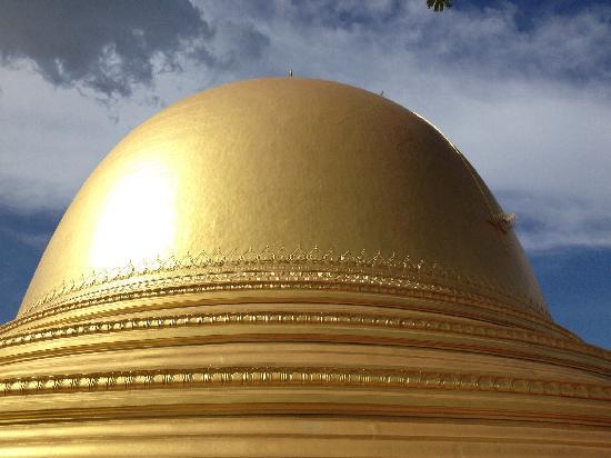 Kaunghmudaw Pagoda: 乳塔