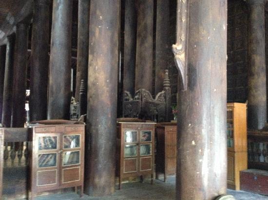 Bargaya Monastery : 柚木寺庙