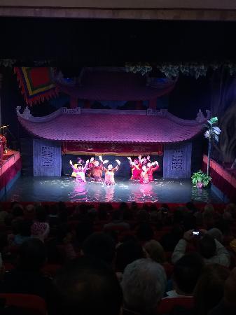 Thang Long Opera Hotel: 水上木偶