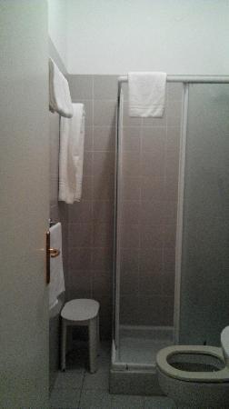 Hotel Santa Lucia: 浴室