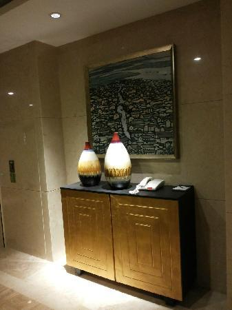 Holiday Inn Shaoxing: 电梯间装饰