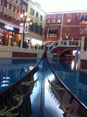 The Venetian Macao Resort Hotel: 长尾船