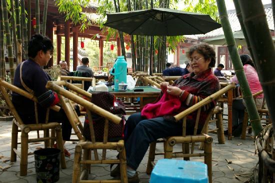 Chengdu Renmin Park: 闲适的成都生活的反映