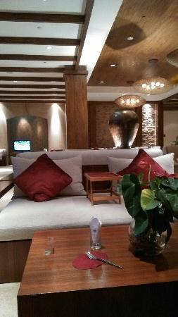 Jincheng Taiyue Holiday Hotel : 大堂吧