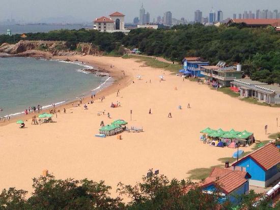 Qingdao Second Beach: 海水浴场