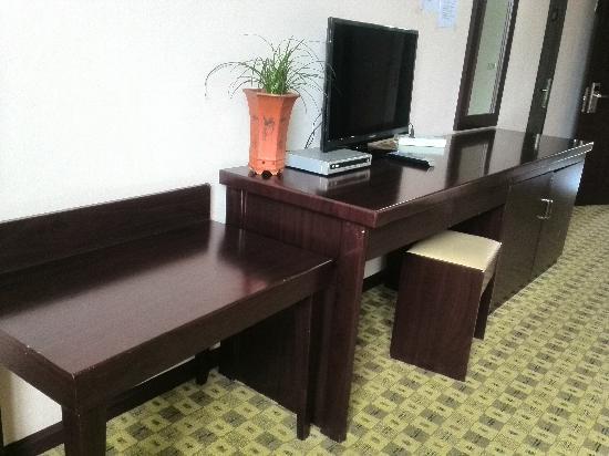شانغري - لا زييوشينغ هوتل: 豪华双床房